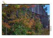 Rustic Barn Above The Fall Colors Carry-all Pouch