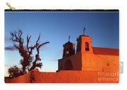 Rustic Colonial Church At Chiu Chiu Chile Carry-all Pouch