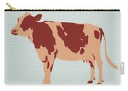 Rustic Cow Carry-all Pouch