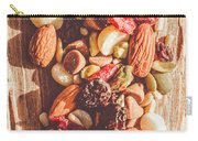 Rustic Dried Fruit And Nut Mix Carry-all Pouch