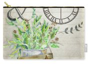 Rustic Farmhouse Our Happy Place Carry-all Pouch
