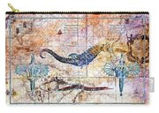 Rustic Seahorse Carry-all Pouch