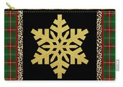 Rustic Snowflake-jp3689 Carry-all Pouch