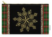Rustic Snowflake-jp3696 Carry-all Pouch