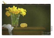 Rustic Still Life With Daffodils Carry-all Pouch
