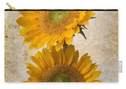 Rustic Sunflowers Carry-all Pouch