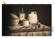 Rustic Table Setting Still Life Carry-all Pouch