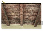 Rustic Wood Beams Carry-all Pouch
