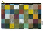 Rustic Wooden Abstract Carry-all Pouch