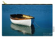 Rustic Wooden Row Boat. Carry-all Pouch