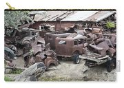 Rusting Antique Cars Carry-all Pouch