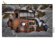 Rusting In Winter Carry-all Pouch