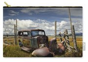 Rusty Auto Wreck Out West Carry-all Pouch