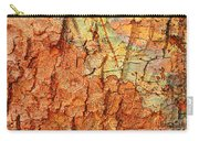 Rusty Bark Abstract Carry-all Pouch