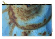 Rusty Blue Fire Hydrant Carry-all Pouch