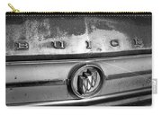 Rusty Buick Emblem Black And White Carry-all Pouch
