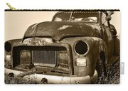 Rusty But Trusty Old Gmc Pickup Carry-all Pouch by Gordon Dean II