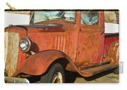 Rusty Chevrolet Pickup Truck 1934 Carry-all Pouch