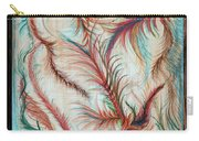 Rusty Feathers Carry-all Pouch