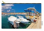 Rusty Fishing Boat In Sali Harbor Carry-all Pouch