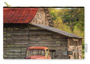 Rusty Ford At The Barn Carry-all Pouch
