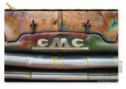Rusty Gmc Truck Carry-all Pouch