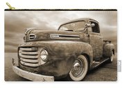 Rusty Jewel In Sepia - 1948 Ford Carry-all Pouch