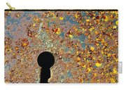 Rusty Key-hole Carry-all Pouch
