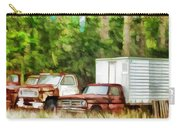 Rusty Old Abandoned Truck 1 Carry-all Pouch
