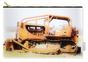 Rusty Old Bull Dozer Carry-all Pouch