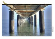 Rusty Pier  On The Ocean  From Below Carry-all Pouch