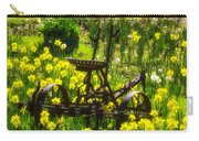 Rusty Plow In Daffodils  Carry-all Pouch