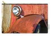 Rusty Red Chevrolet Pickup Truck 1934 Carry-all Pouch