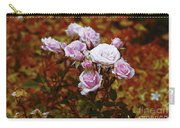 Rusty Romance In Pink Carry-all Pouch by Ivana Westin