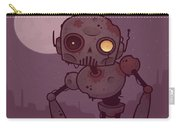 Rusty Zombie Robot Carry-all Pouch