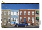 S Baltimore Row Homes - Wide Carry-all Pouch