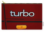 Saab 900 S Turbo Logo Carry-all Pouch