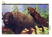 Saber-tooth Tiger Carry-all Pouch