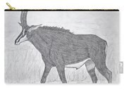 Sable Antelope Carry-all Pouch