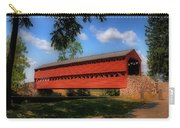 Sach's Covered Bridge Carry-all Pouch by Lois Bryan