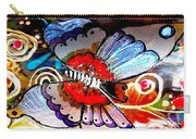 Sackettdoodles Butterfly Carry-all Pouch