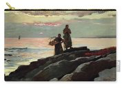 Saco Bay Carry-all Pouch by Winslow Homer