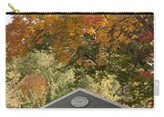 Saco River Covered Bridge Under Fall Foliage Carry-all Pouch