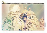 Sacre Coeur Church Vintage Shabby Chic Style Carry-all Pouch