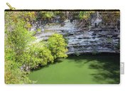 Sacred Cenote Vertical View Carry-all Pouch