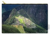 Sacred City Of Machu Picchu Carry-all Pouch