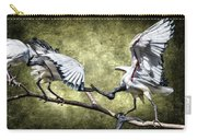 Sacred Ibis Photobombing Carry-all Pouch