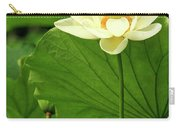 Sacred Lotus In Black Frame Carry-all Pouch