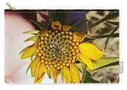 Sacred Sunflower Carry-all Pouch
