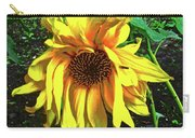 Sad Sunflower Carry-all Pouch